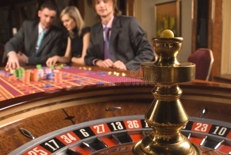 Casino en de jeugd royalty-vrije stock afbeeldingen
