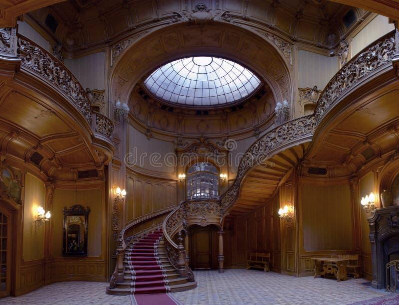Casino entrance hal royalty free stock photo
