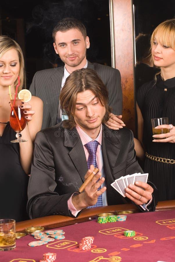 Casino et jeunesse image libre de droits