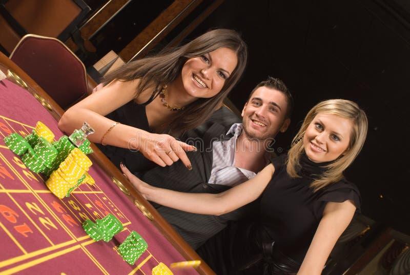 Casino et jeunesse photos libres de droits