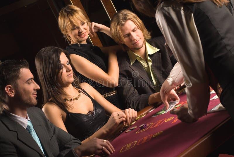 Casino et jeunesse photos stock