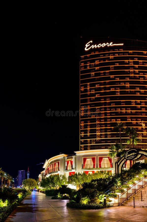 Casino et station de vacances de bis à Las Vegas photo libre de droits