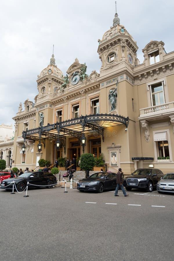 Casino famoso em Monte - Carlo imagem de stock royalty free