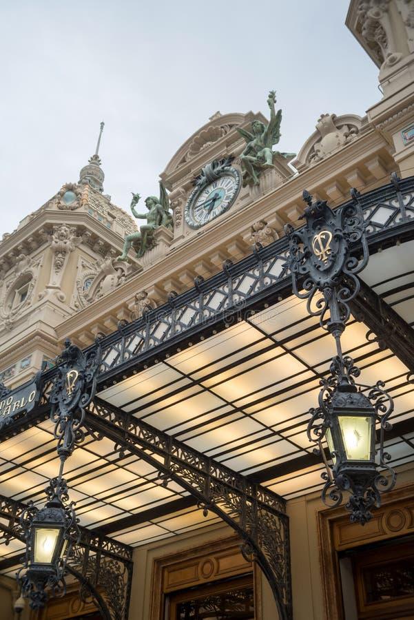 Casino famoso em Monte - Carlo imagens de stock