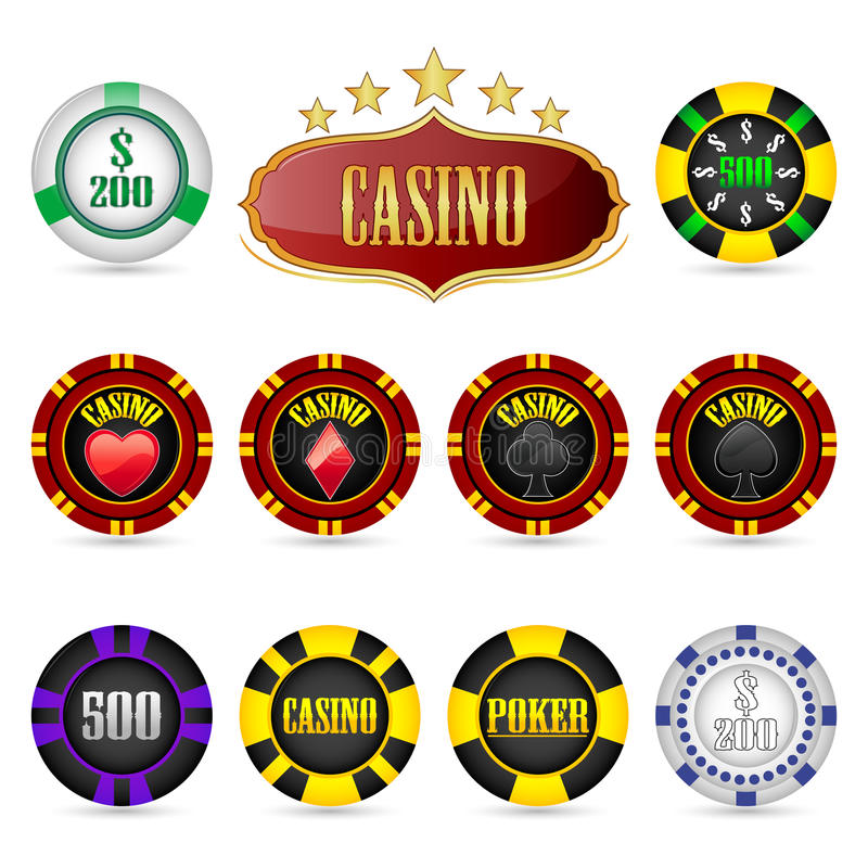 Download Casino Fiches Royalty Free Stock Photo - Image: 18480985