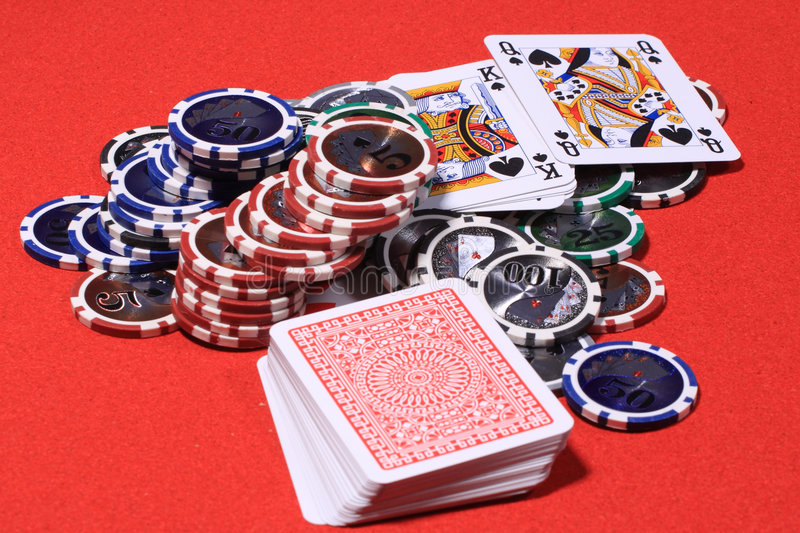 Download Casino gambling chips stock image. Image of casino, felt - 8806379