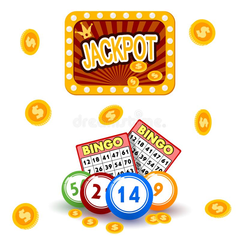 Free Casino Gambling Win Luck Fortune Gamble Play Game Objects Risk Chance Icons Success Vegas Roulette Gaming Vector Stock Images - 119654364