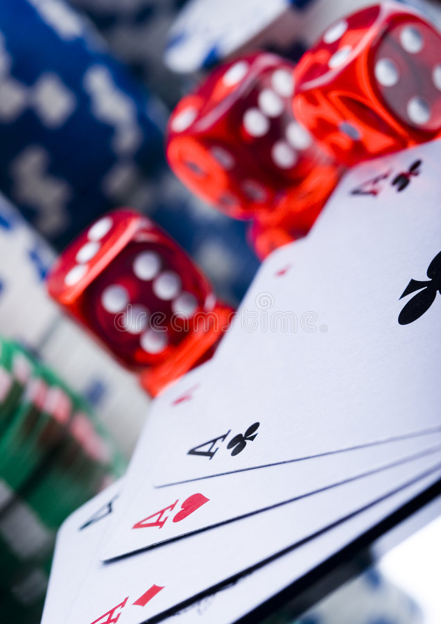 Casino game royalty free stock photography