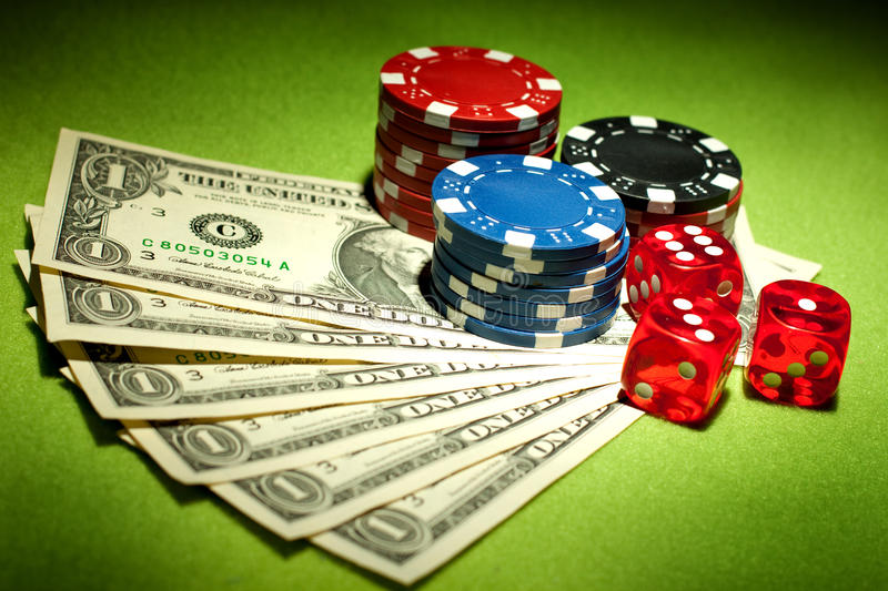 Download Casino games stock image. Image of green, card, background - 13874301