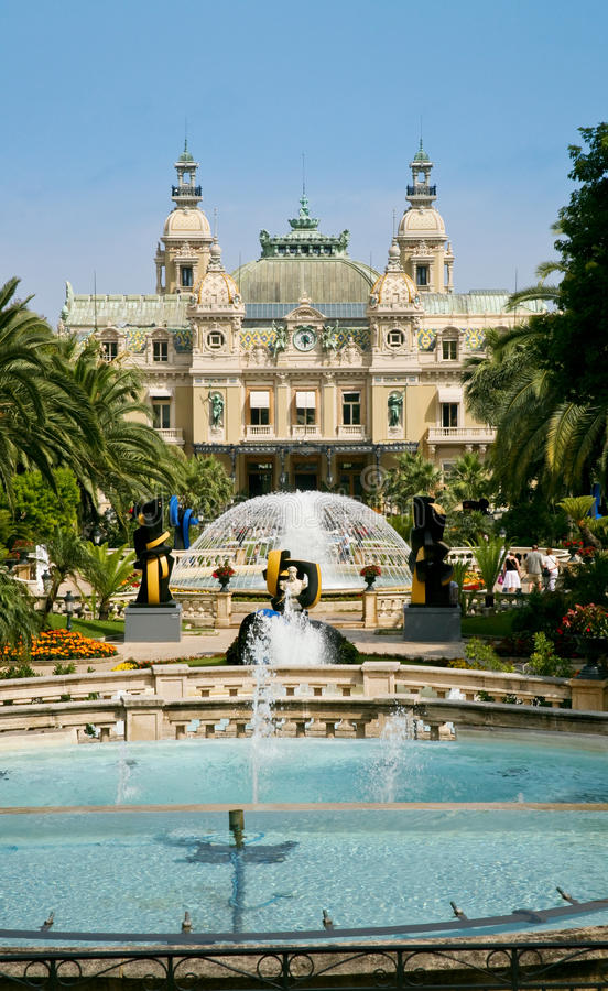Casino grand à Monte Carlo images stock