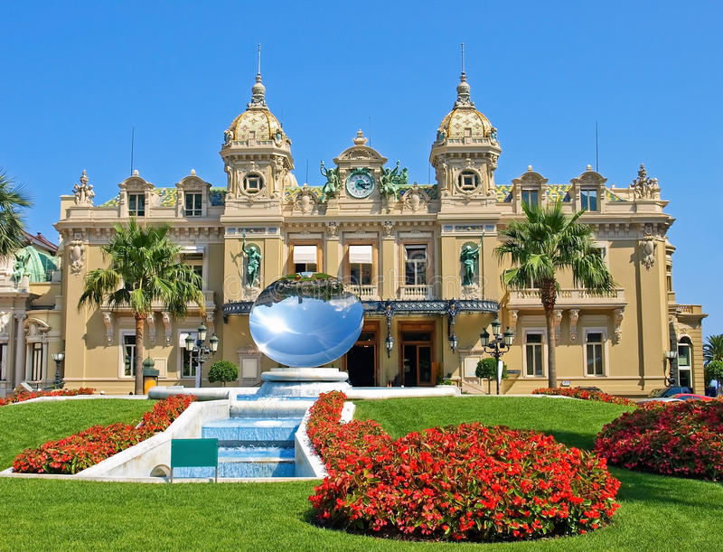Casino grand du Monaco photo stock