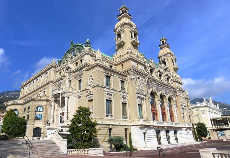 Casino grande em Monte - Carlo imagem de stock royalty free