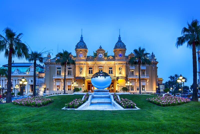 Casino grande Monte - Carlo fotografia de stock
