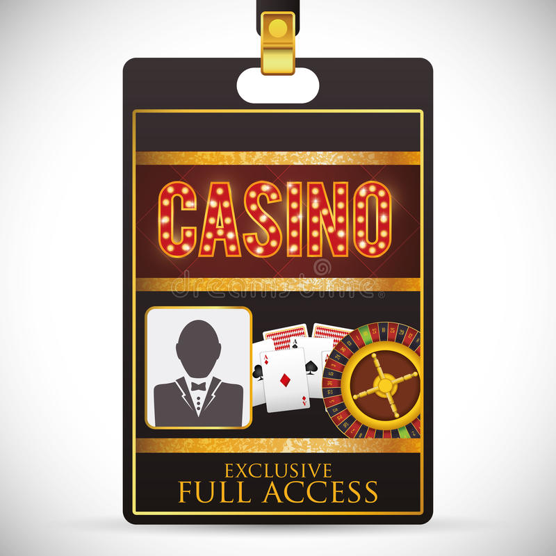 Casino icons design. Casino concept with las vegas icons design, vector illustration 10 eps graphic royalty free illustration