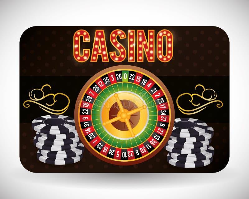 Casino icons design. Casino concept with las vegas icons design, vector illustration 10 eps graphic stock illustration