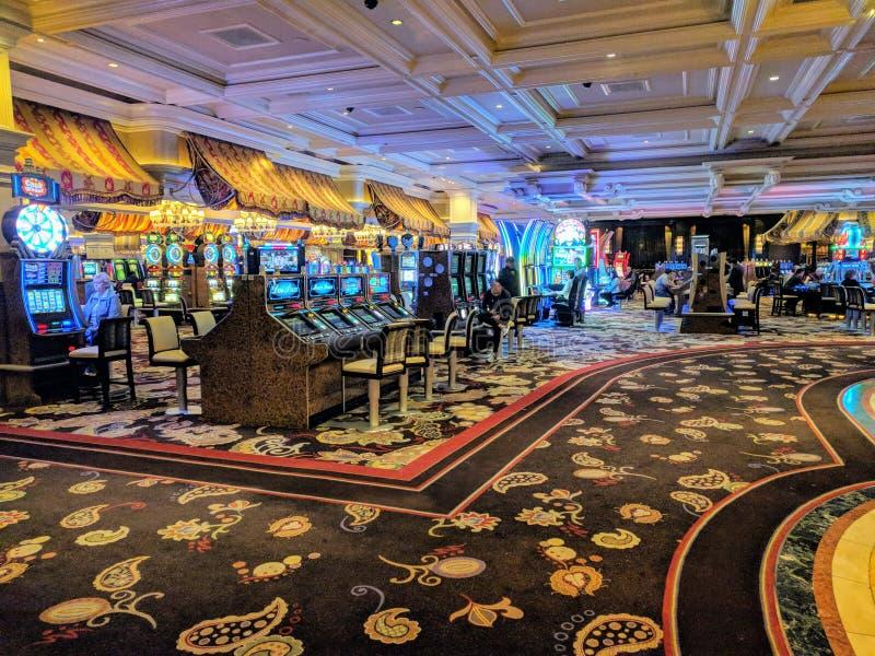 Casino interior stock photography