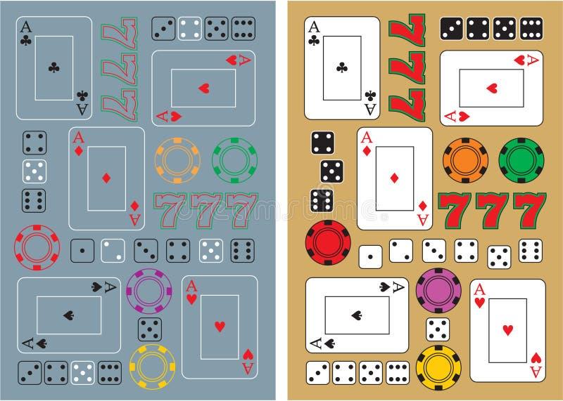 Casino Items Royalty Free Stock Photography