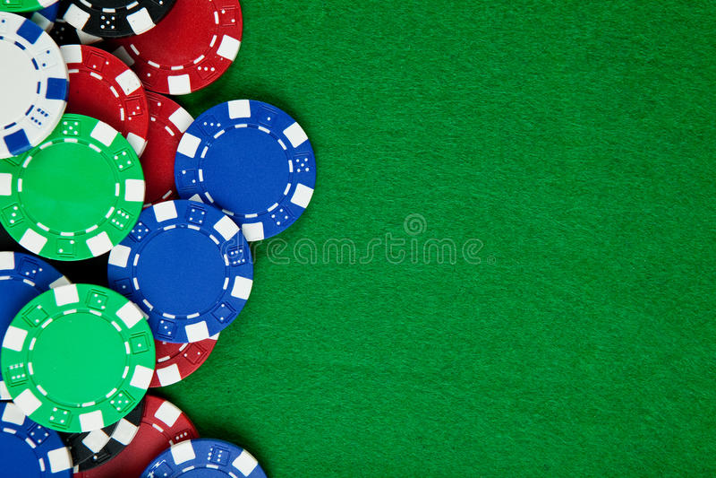 Casino jouant photos stock