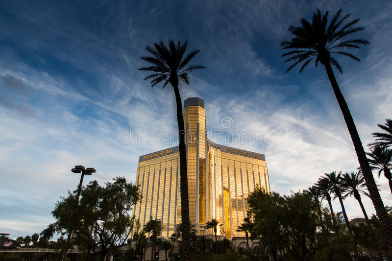 Casino in Las Vegas. Las Vegas, Casino in the afternoon one day in March royalty free stock photos