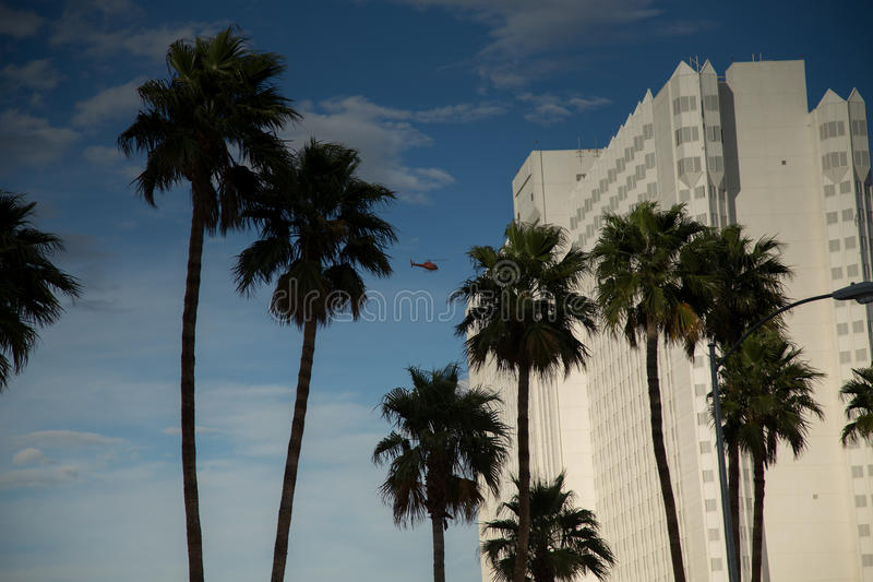 Casino in Las Vegas. Las Vegas, Casino in the afternoon one day in March stock photography