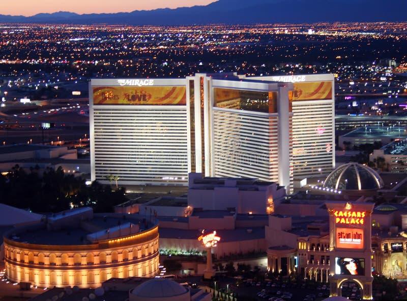 Casino Las Vegas del espejismo foto de archivo libre de regalías