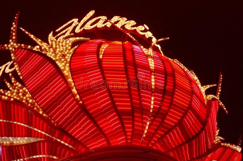 Casino-Las Vegas do flamingo fotografia de stock royalty free