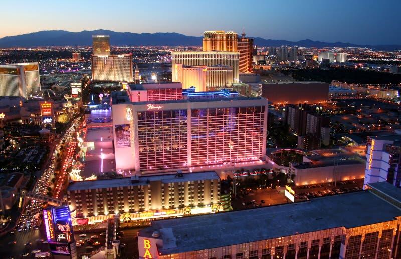 Casino Las Vegas Nevada del hotel del flamenco foto de archivo