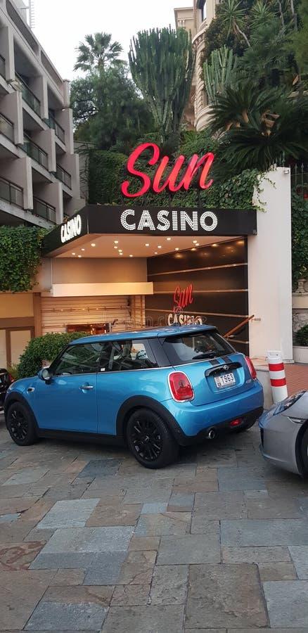 Casino Mônaco de Sun foto de stock