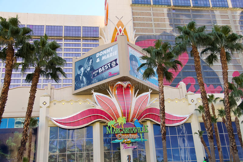 Casino Margaritaville at the Flamingo in Las Vegas. LAS VEGAS, NEVADA, USA - OCTOBER 21, 2013 : Casino Margaritaville at the Flamingo in Las Vegas, Casino royalty free stock photography