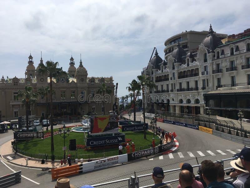 Casino Monte Carlo stock afbeelding