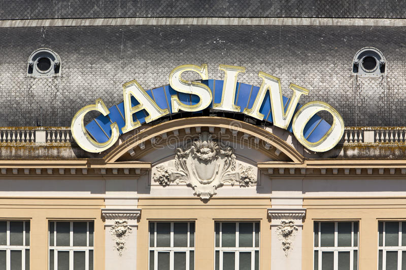 Download Casino Neon Sign At Deauville-Trouville Stock Photo - Image: 14681520