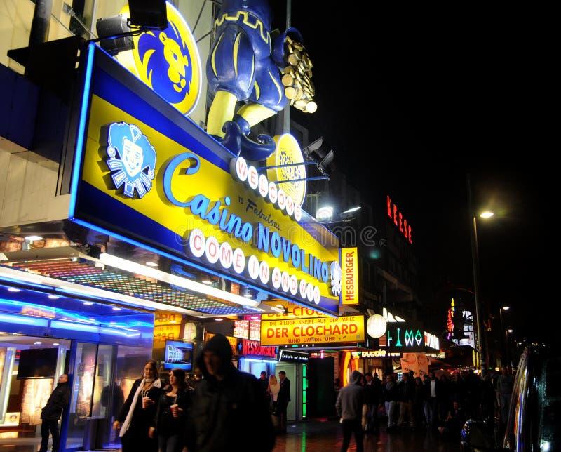 Download Casino Novolino Hamburg editorial stock image. Image of colored - 28789829