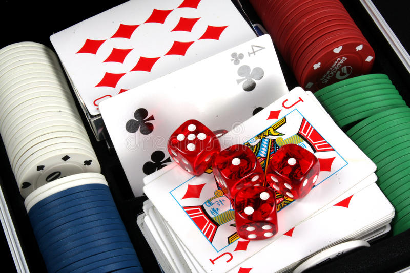 Casino Objects stock photos