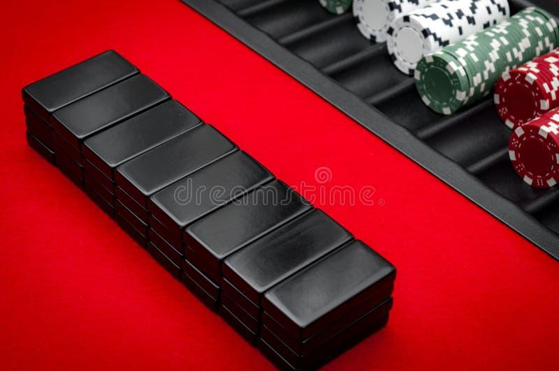 Casino Pai Gow Tiles photo libre de droits