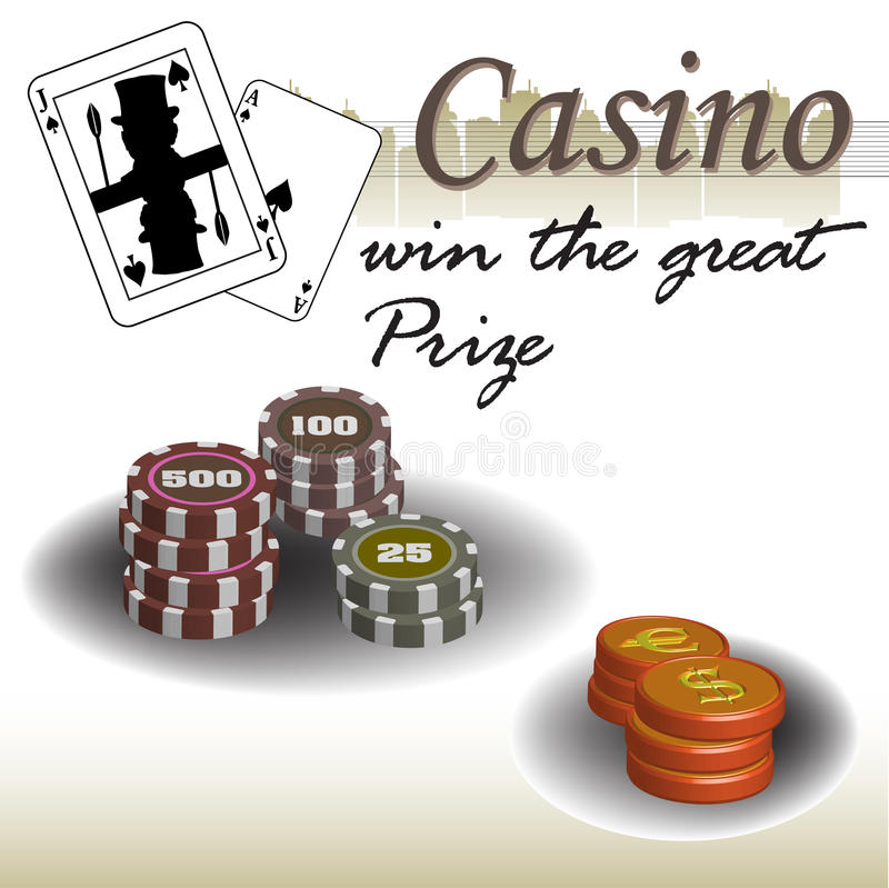Casino Prize Royalty Free Stock Photography