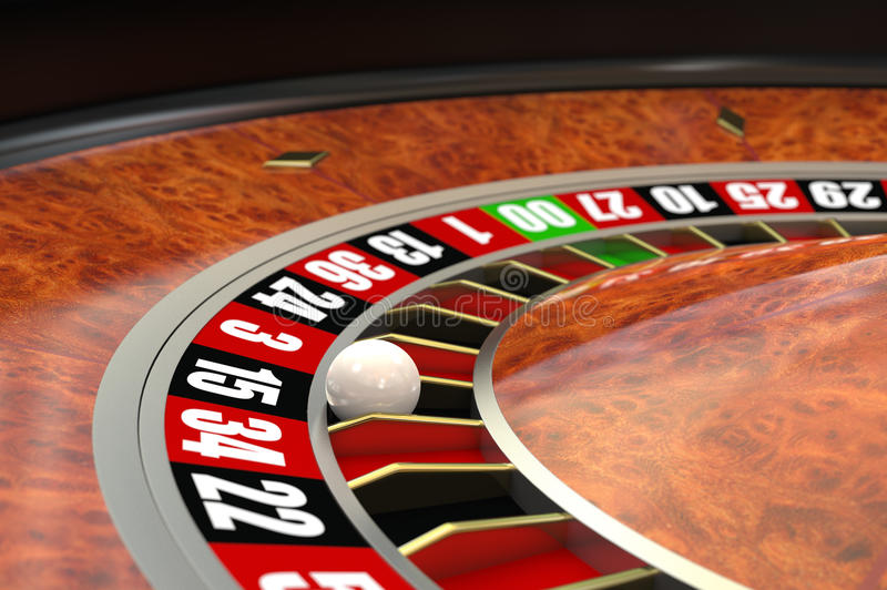 Casino Roulette. Computer generated image. Look for similar images royalty free illustration