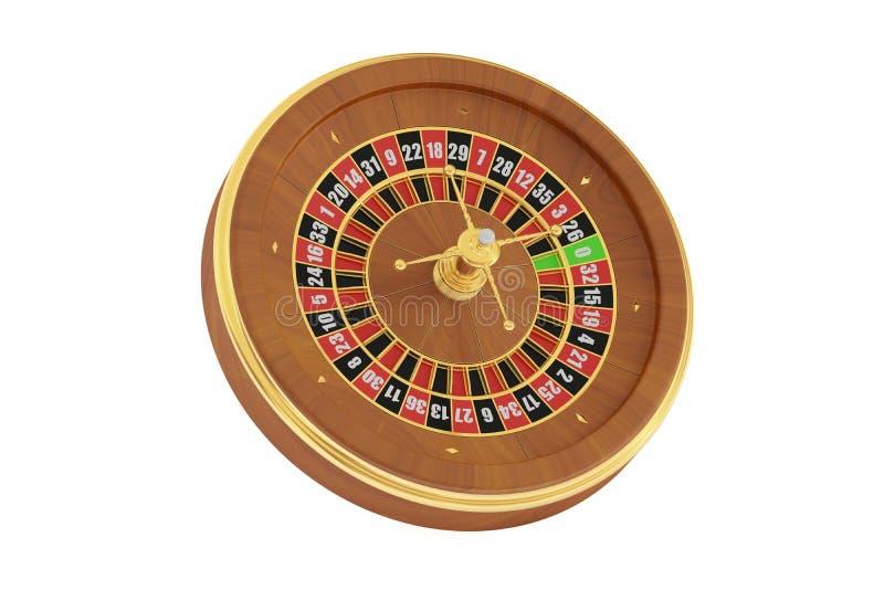 Casino roulette, 3D rendering vector illustration