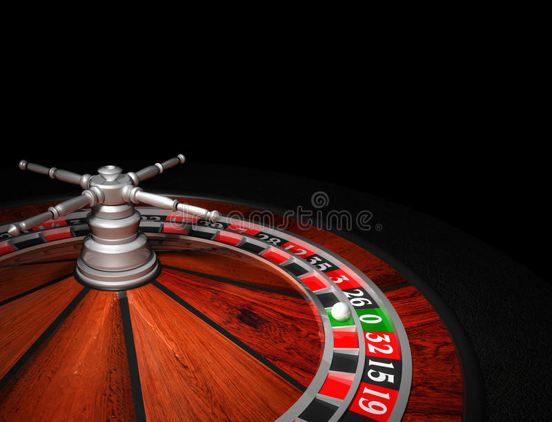 Casino Roulette Wheel vector illustration