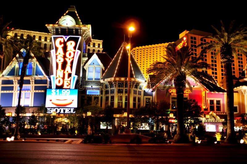 Casino Royale Hotel in Las Vegas, United States stock image