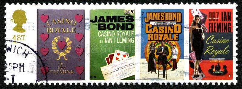 Casino Royale UK Postage Stamp stock photos