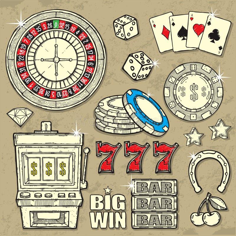 Free Casino Set Stock Photos - 25070923