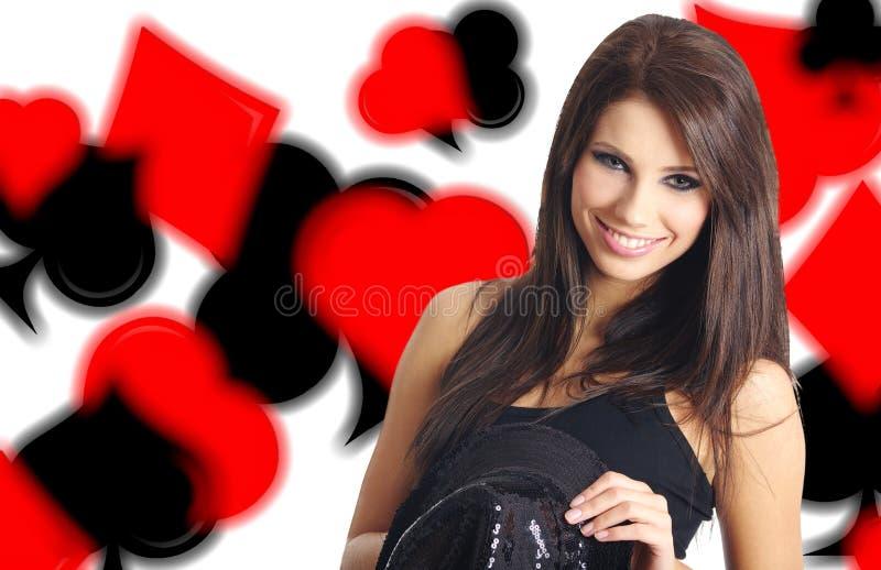 Casino showgirl