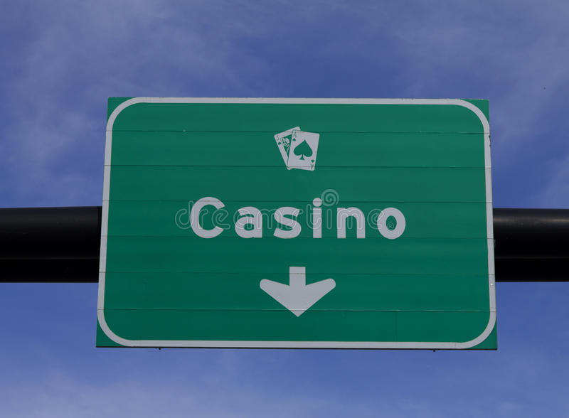 Download Casino sign stock photo. Image of road, white, chips - 25296082