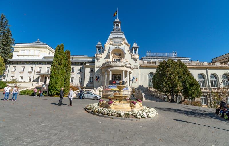 Casino in Sinai, Roemenië stock foto