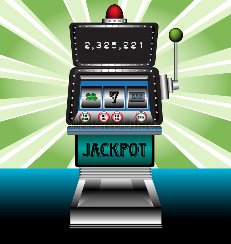 Free Casino Slot Machine Stock Photography - 9061432