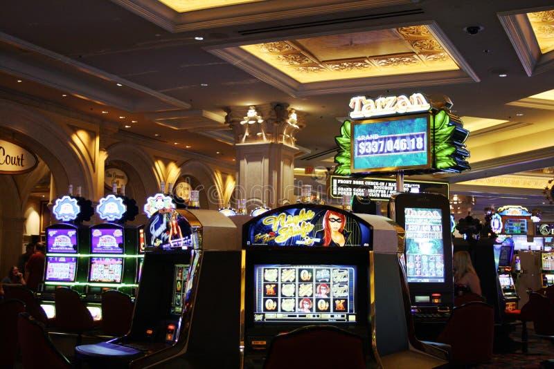 Casino slot machines stock photos