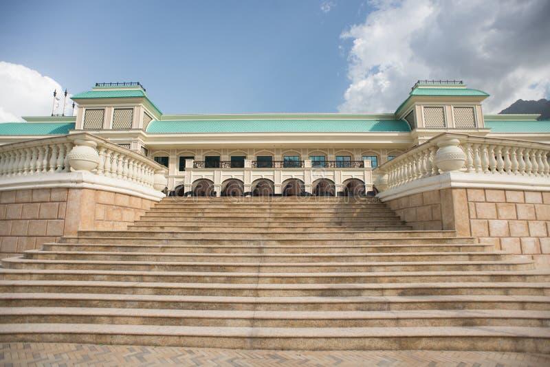 Casino Soch dans Esto Sadok Krasnaya Polyana Sotchi Russie images libres de droits