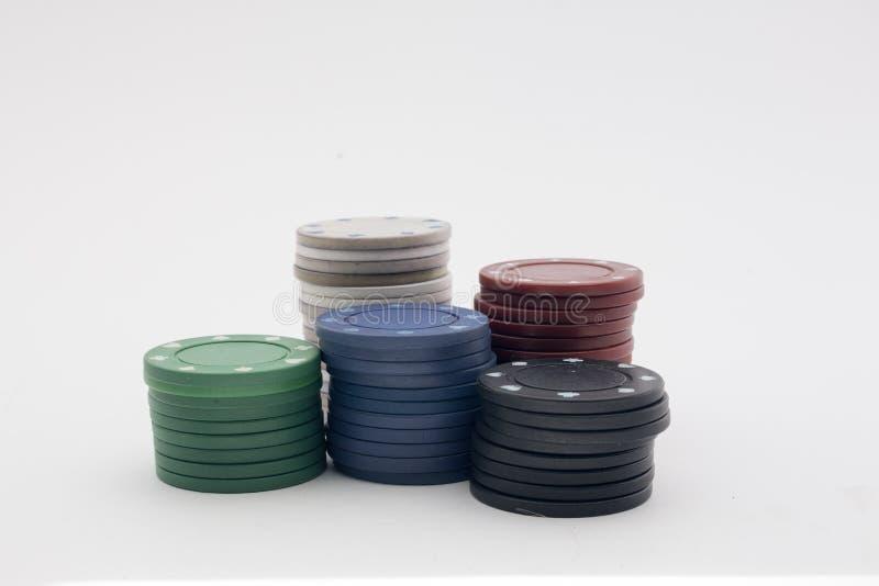 Casino token stock photography