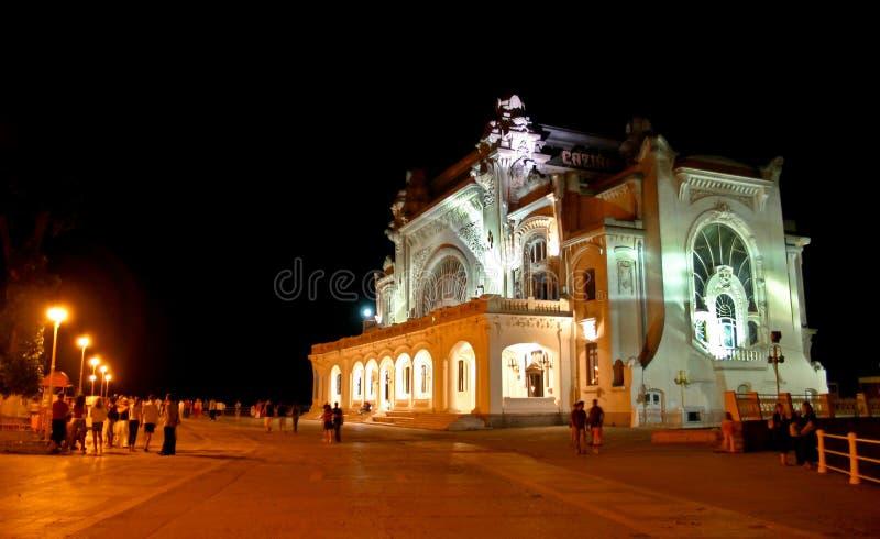 Casino van Constanta stock afbeeldingen