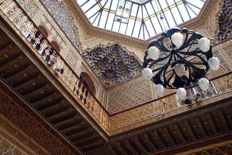 Casino van Murcia royalty-vrije stock fotografie